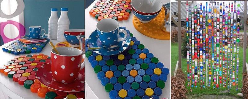 Riciclare tappi di plastica 20 idee per riusare i tappi for Cose fai da te