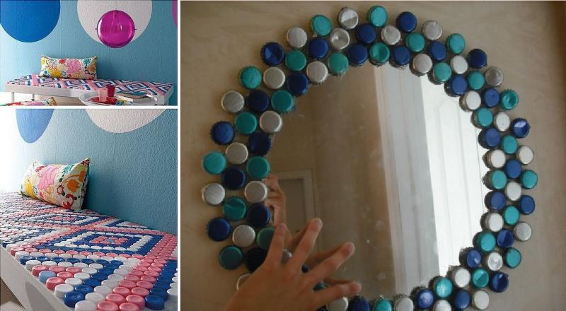 Idee per riciclare i tappi di plastica delle bottiglie for Creare oggetti utili fai da te
