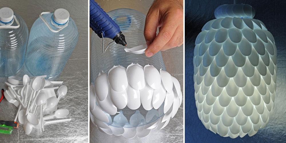 Lampade fai da te: 20 idee facili per creare lampadari