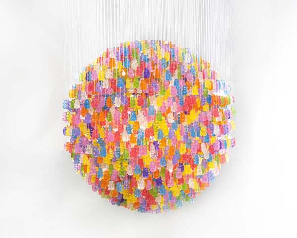 Lampade fai da te 20 idee facili per creare lampadari - Cappelli per lampade da tavolo ...
