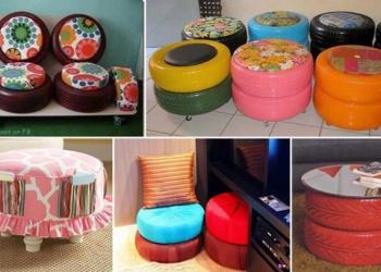 Riciclo pneumatici: 20 idee creative per riusare vecchi copertoni