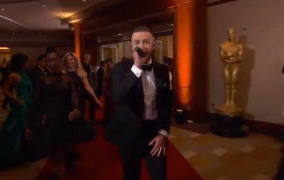 L'esuberante performance di Justin Timberlake in apertura agli Oscar 2017