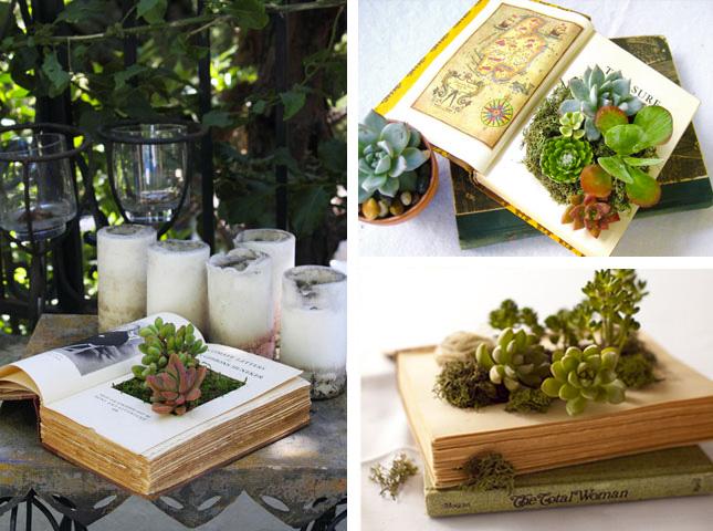 Le più belle idee creative per riciclare libri vecchi