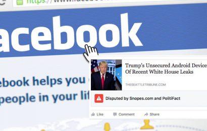 Facebook segnala notizie false negli Usa, presto anche in Italia