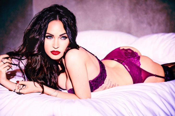 Megan Fox testimonial sexy della nuova linea lingerie di Frederick's Hollywood