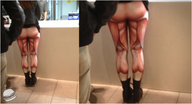 I pantaloni muscolo
