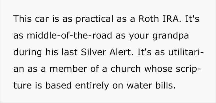L'annuncio su Craigslist di uno che vende la sua Toyota Corolla del 1999 è uno spasso