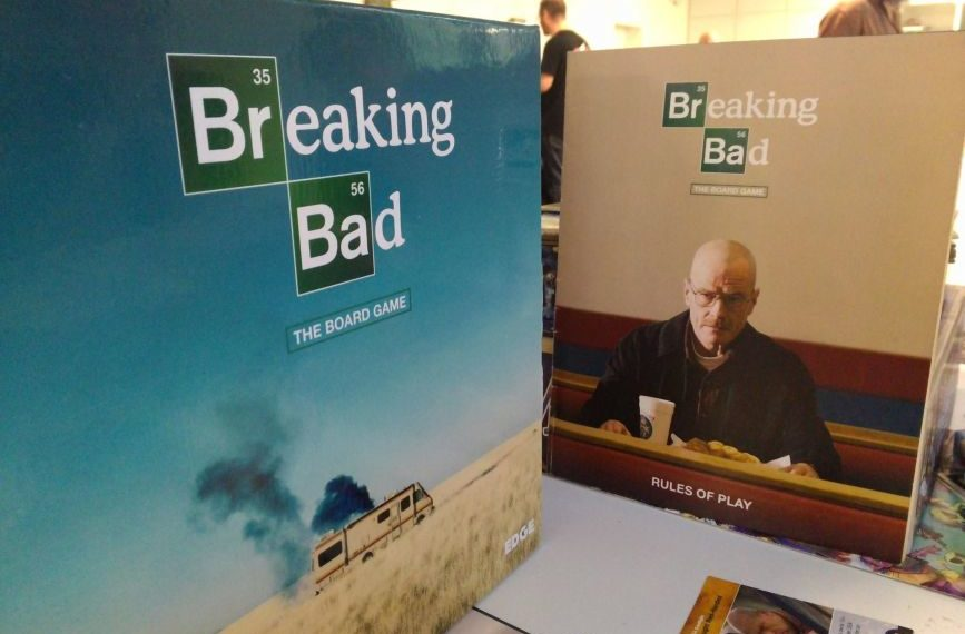 Gioco da tavolo novità: è arrivato Breaking Bad