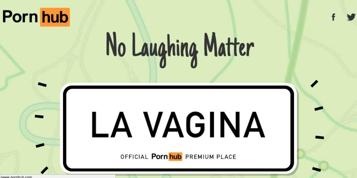 Pornhub regala abbonamenti premium ai comuni con il nome hot