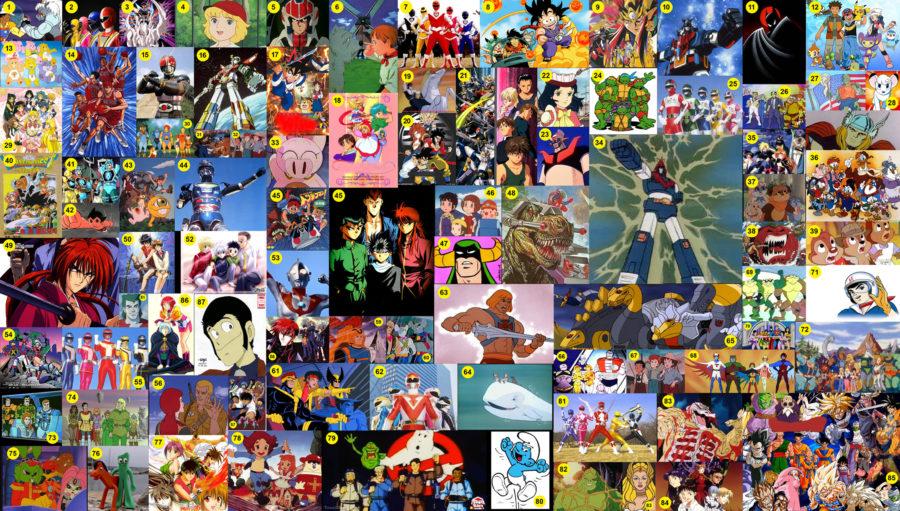 I cartoni animati anni più belli