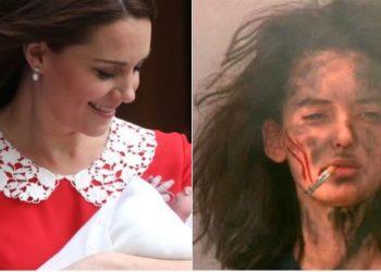Aspettativa vs. Realtà: foto post parto delle mamme a confronto con Kate Middleton