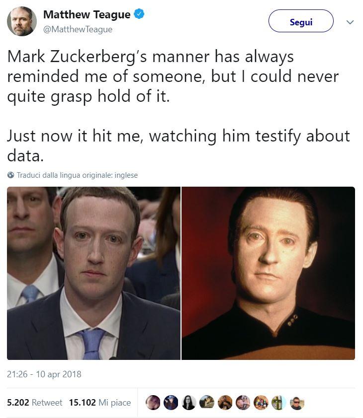 I meme su Mark Zuckerberg davanti al Congresso sono uno spasso