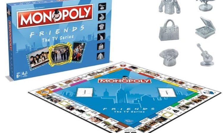 Il monopoly a tema Friends è finalmente in vendita