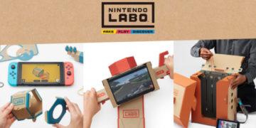Nintendo Labo potrebbe diventare il videogioco più bello e costruttivo di sempre