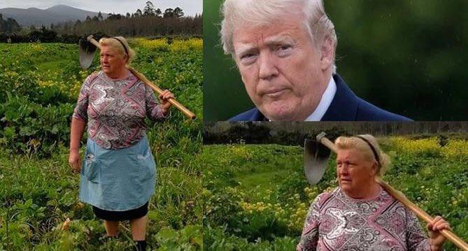 No, la foto della donna che somiglia a Donald Trump non è un fake