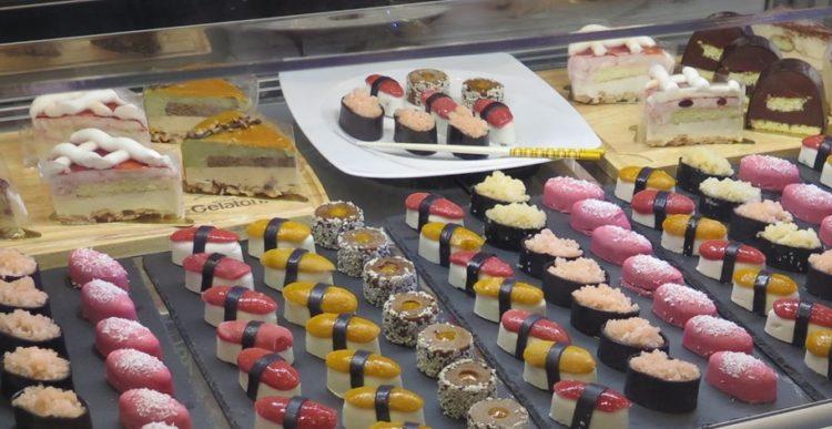 Gelato sushi: la novità da non perdere