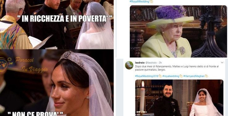 Royal Wedding: le meme più divertenti