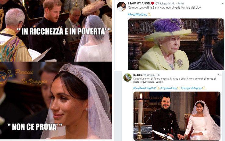 Royal Wedding: le meme più divertenti