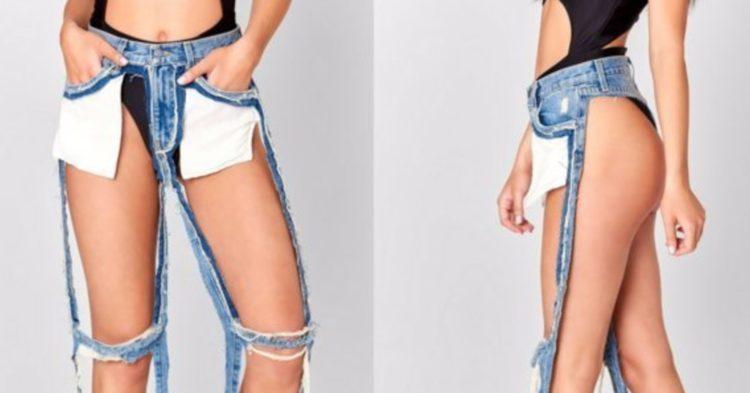 Questi sono i jeans strappati più venduti del momento