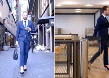 Un importante manager uomo indossa i tacchi in ufficio: il motivo vi lascerà senza parole
