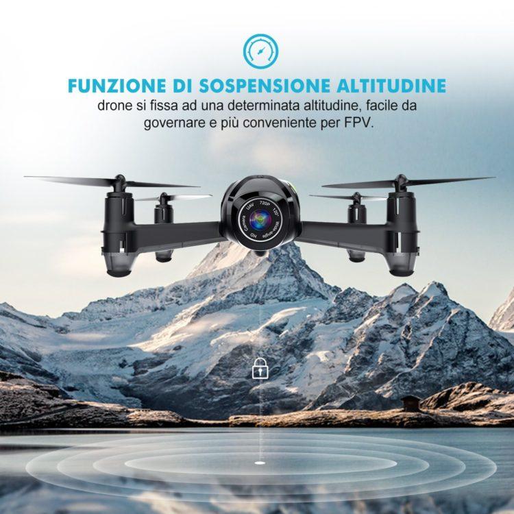 Potensic Drone U36W con Telecamera HD 720P