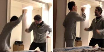 Il video del ragazzo autistico che balla con il papà sta emozionando il web