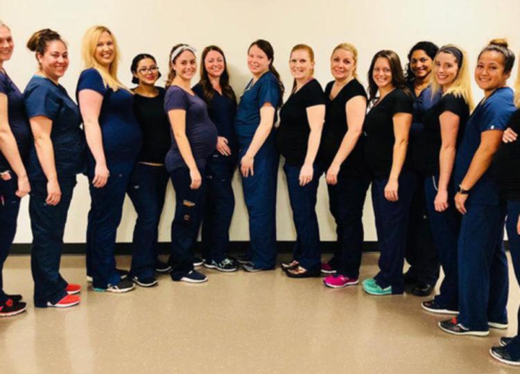 Record di 16 infermiere incinte tutte nello stesso reparto