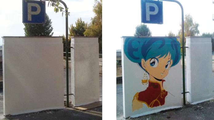 L'artista che con i suoi murales ha trasformato Grottaglie nel paese dei cartoni animati