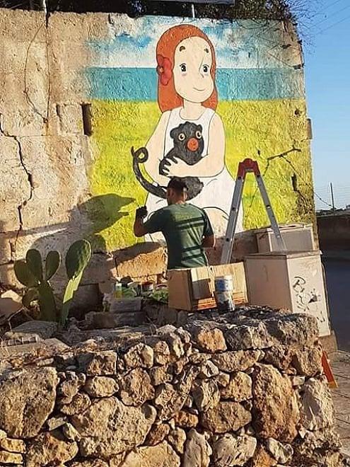 Le Grottaglie - Puglia - diventa il paese dei cartoni animati