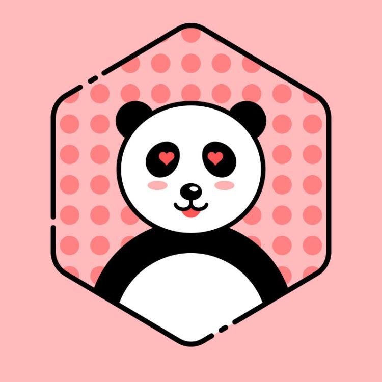 Immagine di profilo con il Panda