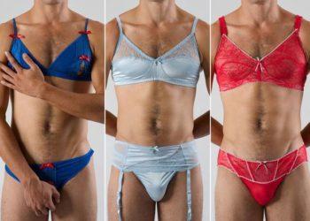 Il nuovo accessorio trend da uomo? Reggiseno di pizzo e mutandina abbinata