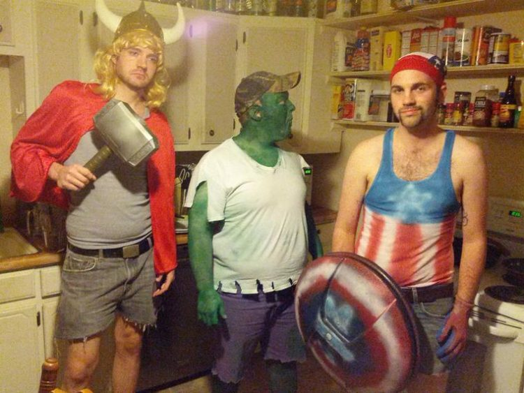 Avengers-Halloween fail