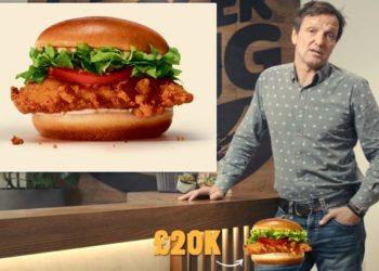 Burger King offre 20.000 £ per assaggiare il nuovo Crispy Chicken Burger