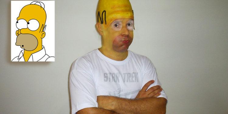 Homer Halloween fail
