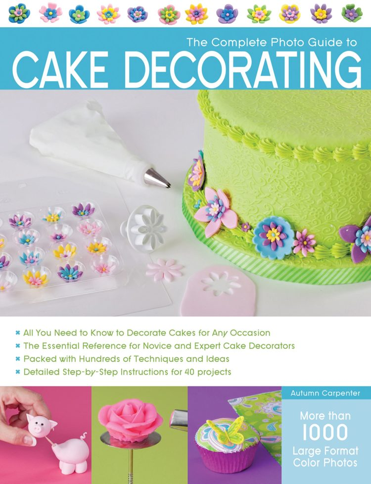 I 5 migliori libri di ricette per il cake design