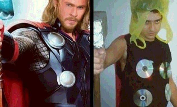 Thor-Halloween fail