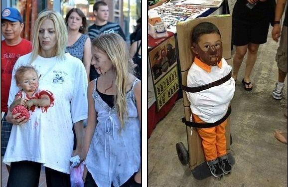 Zombie-Halloween fail