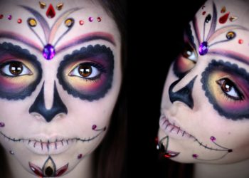 I tutorial migliori per truccarsi da Catrina ad Halloween