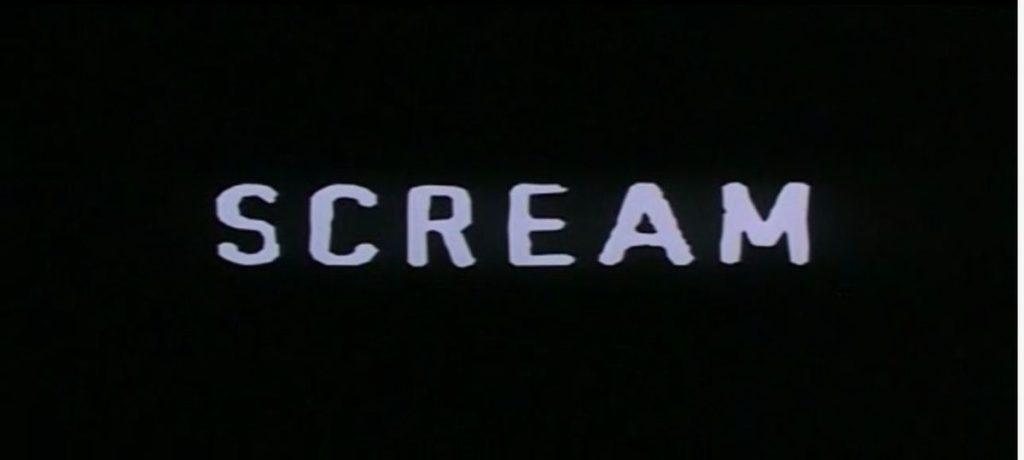 Scream Film Horror