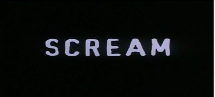 Scream Film Horror