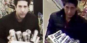 Sosia di David Schwimmer beccato mentre rubava birre, l'attore si difende su Twitter