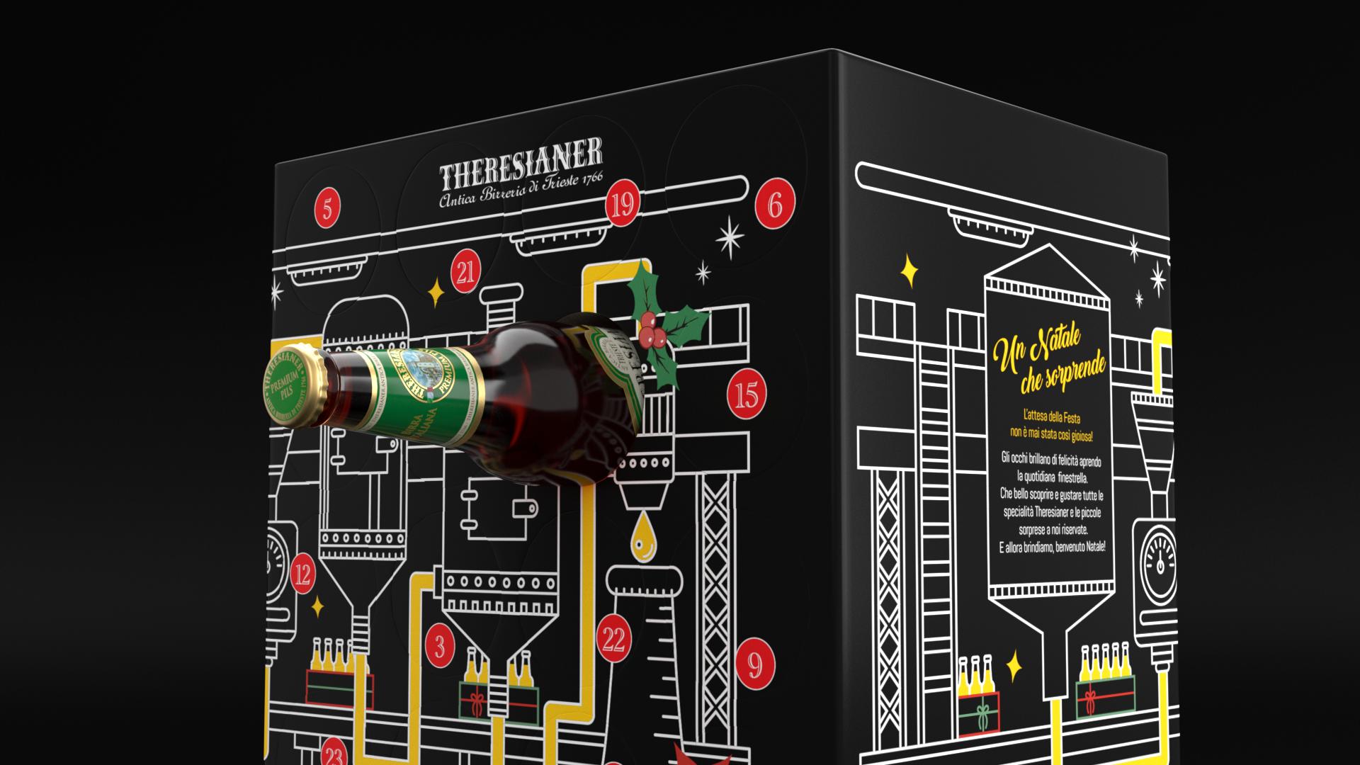 Calendario Avvento Birra.Il Calendario Dell Avvento Birre Theresianer In Offerta A 36