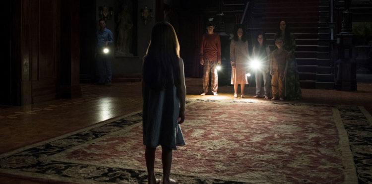 Una scena della serie Hill House