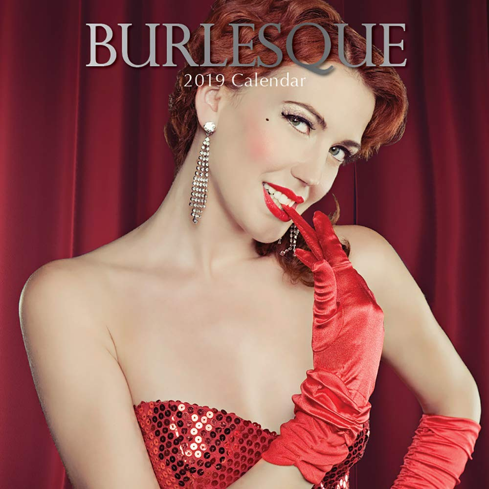 2019 Calendario Della Parete-2019 Calendario Sexy burlesque