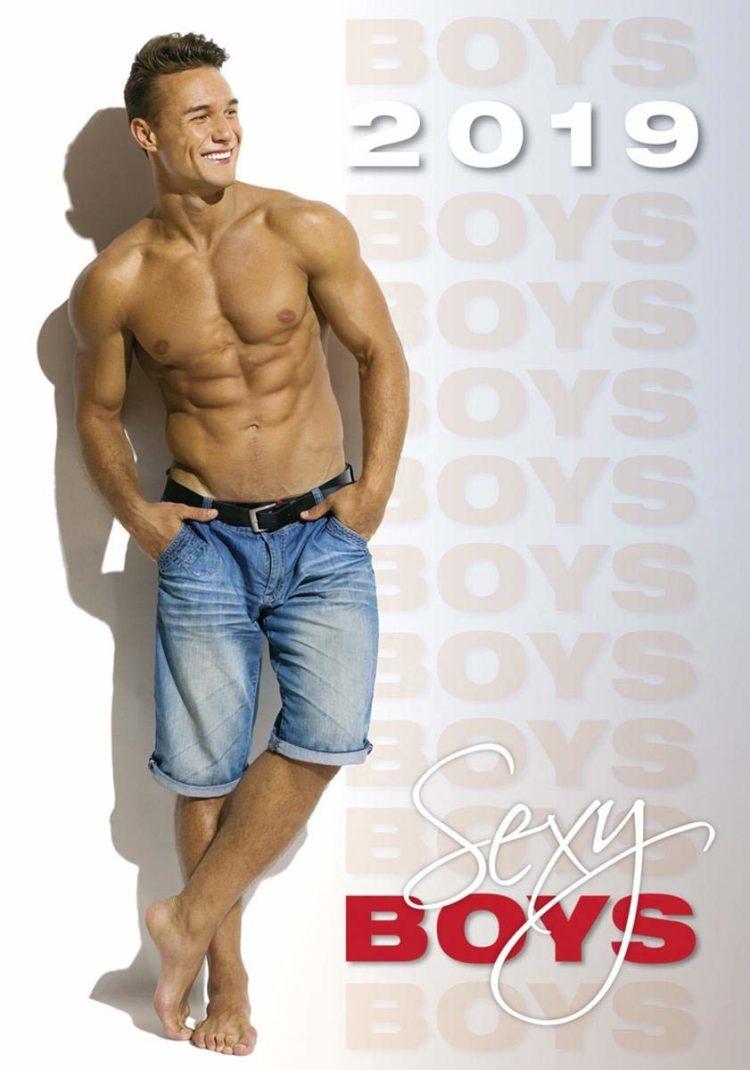 Close Up Calendario 2019 - Sexy Boys