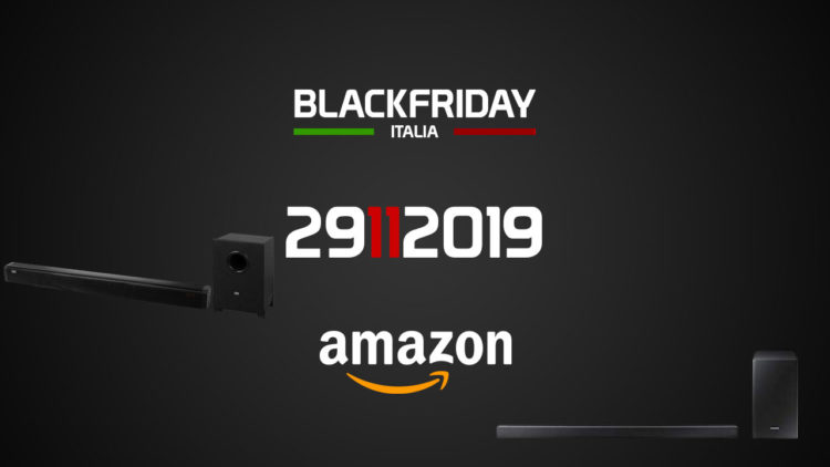 Soundbar Black Friday 2019: le migliori offerte su Amazon