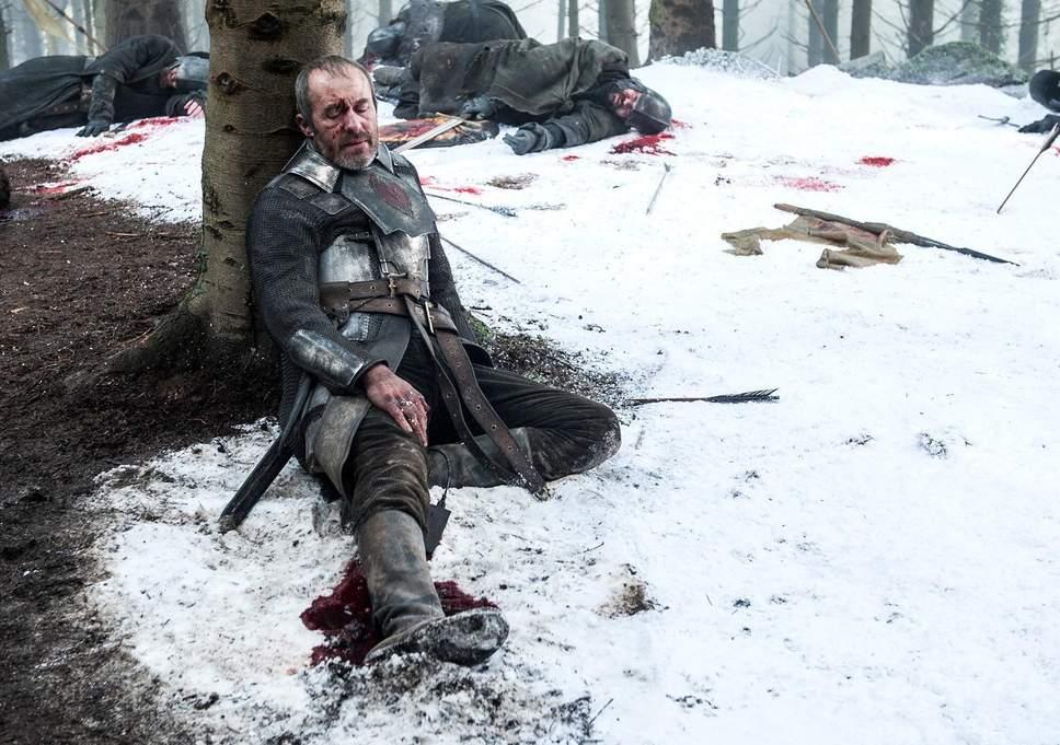 la morte di Stannis Baratheon