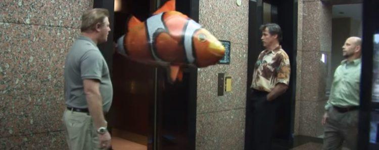Pallone Gonfiabile Telecomandato a forma di Nemo
