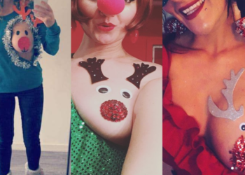 Vestire una tetta da renna Rudolph è l'annuale trend natalizio su Instagram