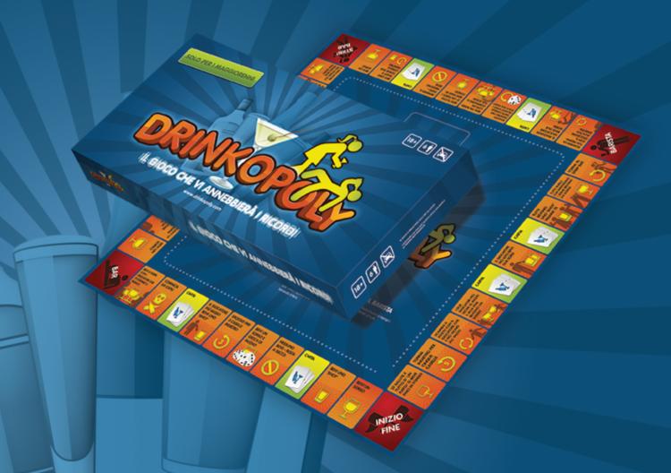 Drinkopoly, il gioco da tavola per le serate alcoliche tra amici